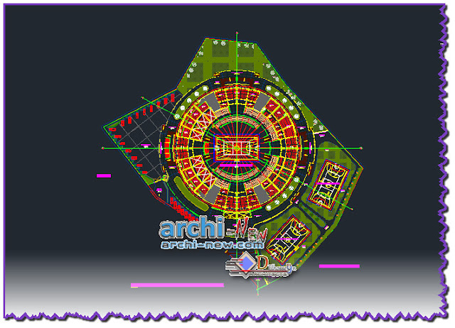 download-autocad-cad-dwg-file-draft-coliseum-closed