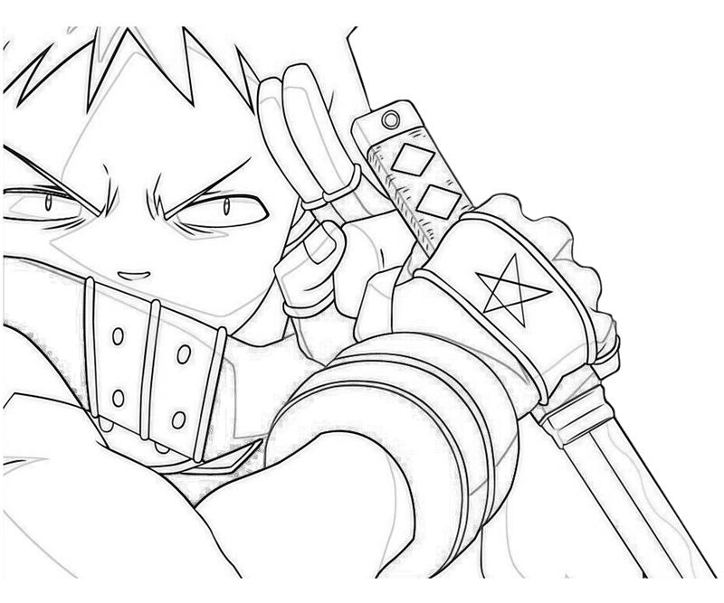Anime Character Coloring Pages Coloring Pages For Kids
