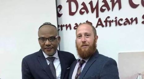 Biafra: Nnamdi Kanu Storms Tel Aviv University In Israel