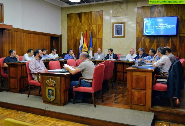 El Cabildo constituye la Mesa de Alcaldes para reforzar la relación institucional con las Corporaciones locales
