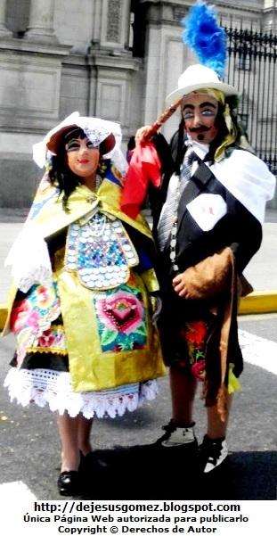 Foto del Príncipe y la Wanka de la Tunantada de Jesus Gómez