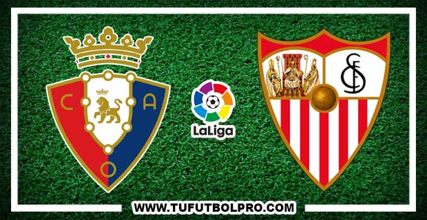 Ver Osasuna vs Sevilla EN VIVO Por Internet Hoy 22 de Enero 2017