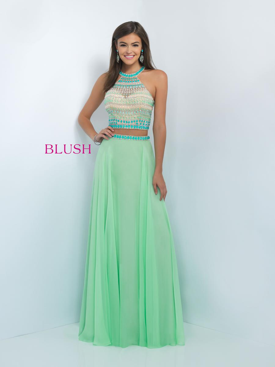 Exclusive New Party Wear Blush Prom Dress Designs 2016-17 For ...