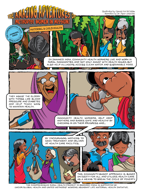 UMW Response Magazine Maternal & Child Health Comic