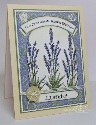 ODBD Seedpacket, Lavender, Card Designer Angie Crockett