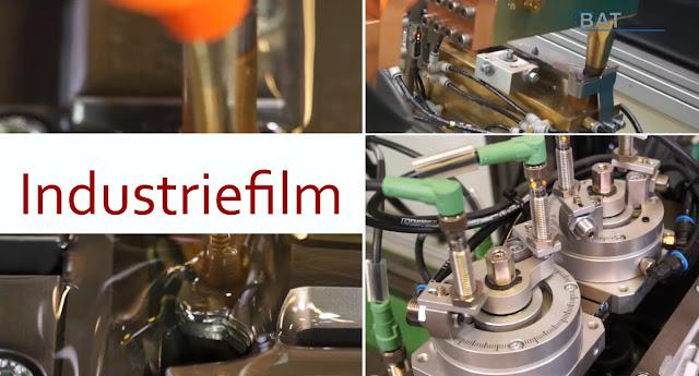 Industriefilm Imagefilm Maschinenbau Werbeagentur vom Hofe foto/design Gummersbach Werbetexter Robert Welz Köln