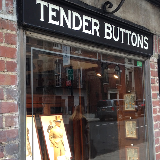 A Trip to Tender Buttons NYC | Linzer Lane Blog