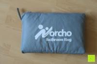 Tasche: Norcho 50x80cm Absorbierende Rutschfeste Badematte für Hund und Badezimmer Blau
