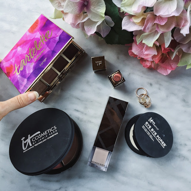 The Small Town Girl Sephora Haul Tarte Tom Ford Burberry It Cosmetics
