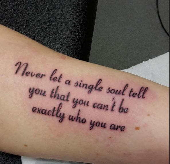 70 Best Inspirational Tattoo Quotes For Men Women 2019: 50 Inspirational Tattoo Quotes For Men To Try (2018