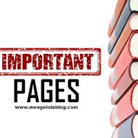 4 halaman penting yang wajib ada di blog