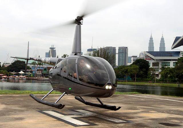 Malaysia Cempaka Helicopter
