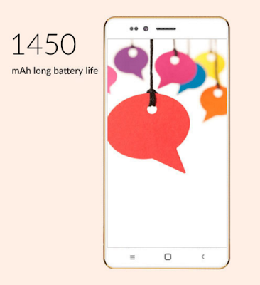 Freedom 251 configured with 1450 mAh battery life