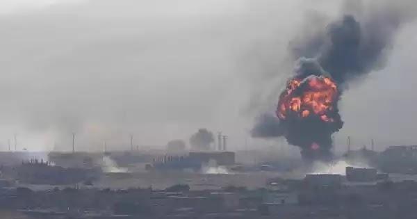 Η συριακή αεράμυνα κατέρριψε τουρκικό UAV πάνω από την Ιντλίμπ - Νέοι σαρωτικοί ρωσικοί βομβαρδισμοί