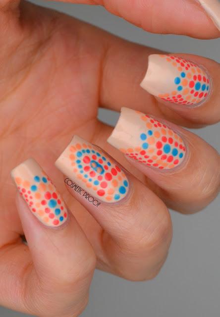 Dior Polka Dot Nail Art Dotticure
