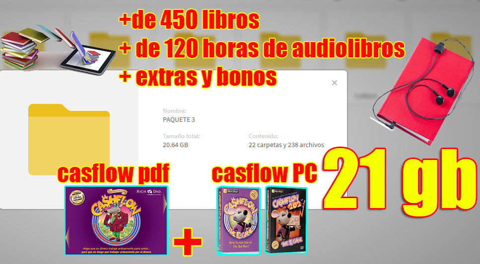 MEGA PACK DE LIBROS DE EDUCACION FINANCIERA