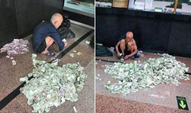 इस भिखारी के पास इतना पैसा है कि गिनने के लिए रखना पड़ते है लोग