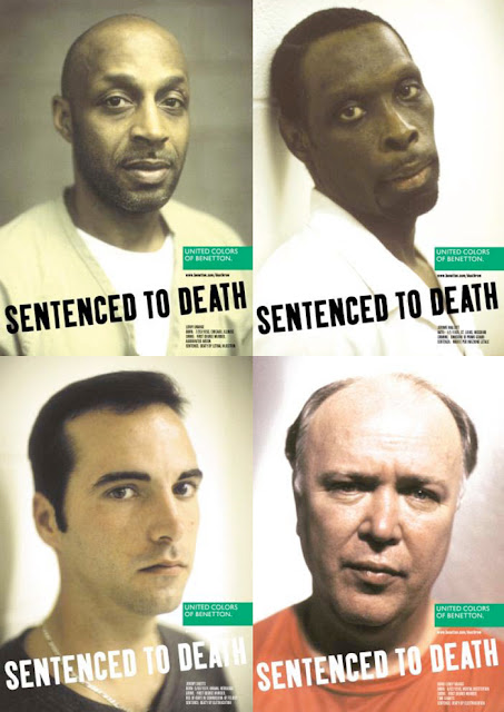 In 2000, Benetton ran a feature with death row inmates