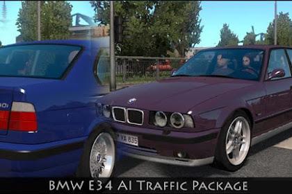 BMW E34 Traffic Pack v1.0 - 1.34.x