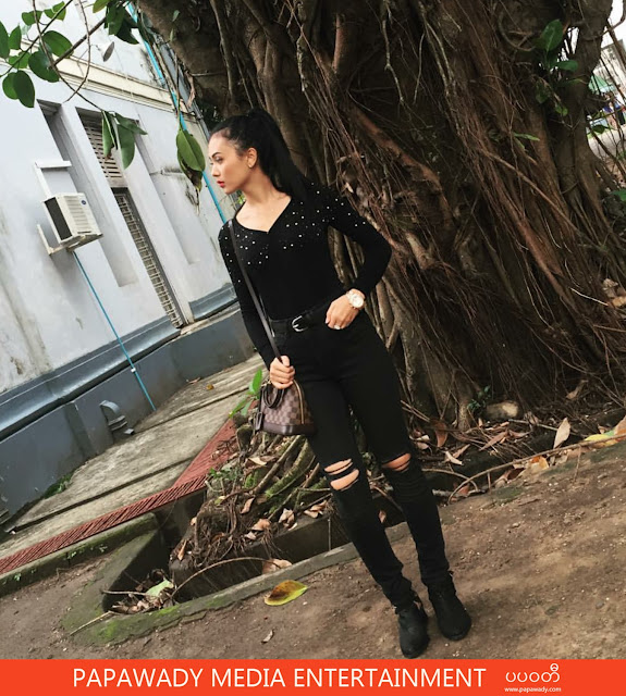 Cute Actress Shwe Mhone Yati Instagram Moment Pictures