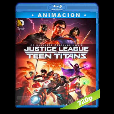 La Liga De La Justicia Contra Los Jovenes Titanes (2016) BRRip Full 1080p Audio Trial Latino-Castellano-Ingles 5.1