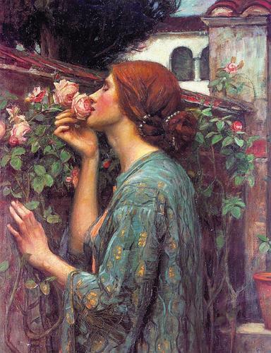 collige virgo rosas