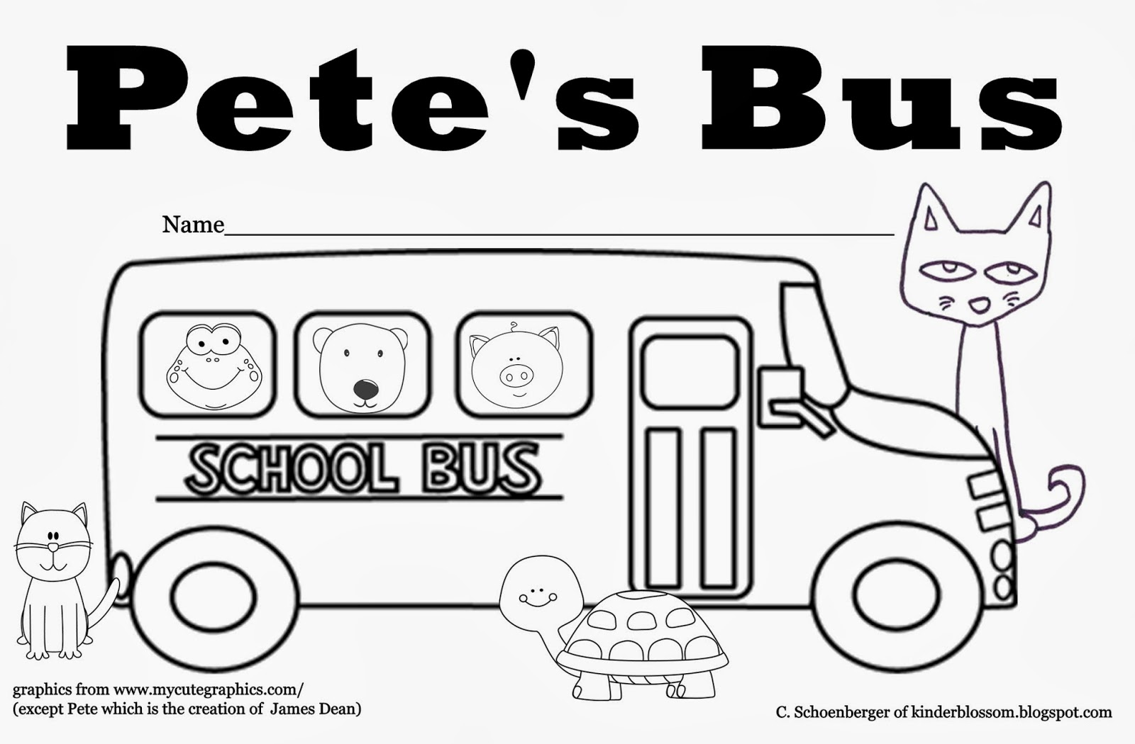 Image Result For Bus Safety Coloring