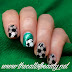 Twinsie Tuesday: Geometric - Euro 2016 Football Manicure