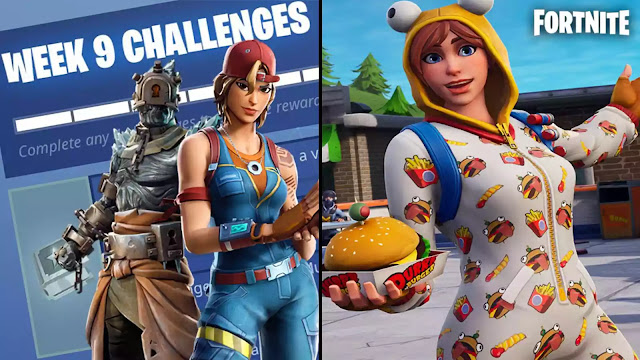 re going to possess got to scout the aftermath on YouTube Fortnite flavor 7, calendar week ix challenges as well as how to consummate them fast - Phonevscell