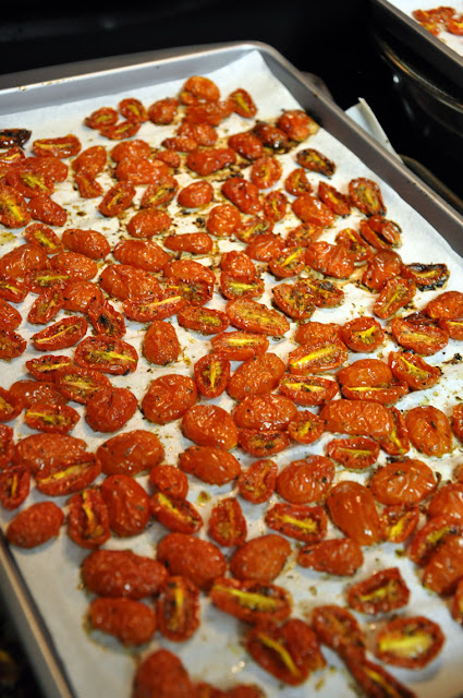 Roasted grape tomatoes Hickory Ridge Studio