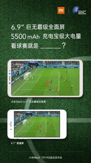 , Muncul Video Xiaomi Mi Max 3 Akan Diluncurkan dengan Baterai Besar, KingdomTaurusNews.com - Berita Teknologi & Gadget Terupdate