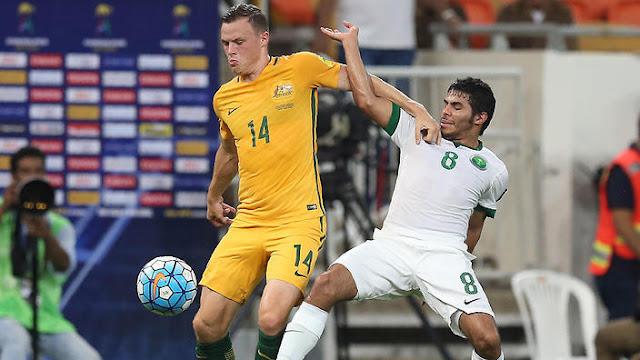 Australia empató a dos con Arabia Saudita en la ciudad de Yeda en las eliminatorias Asia Rusia 2018