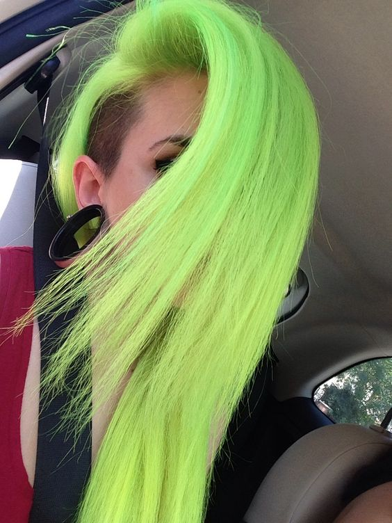 Stunning Bright Hair Colors The Haircut Web