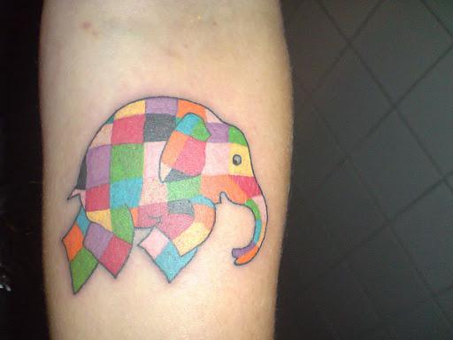 Colcha De Retalhos Pachyderm Elefante Tatuagem