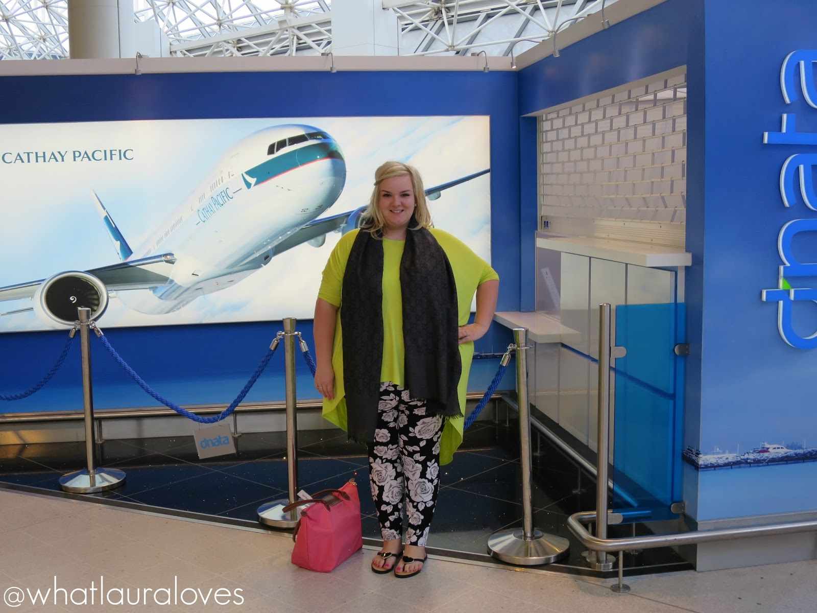 Plus Size Airport Holiday Travelling Out