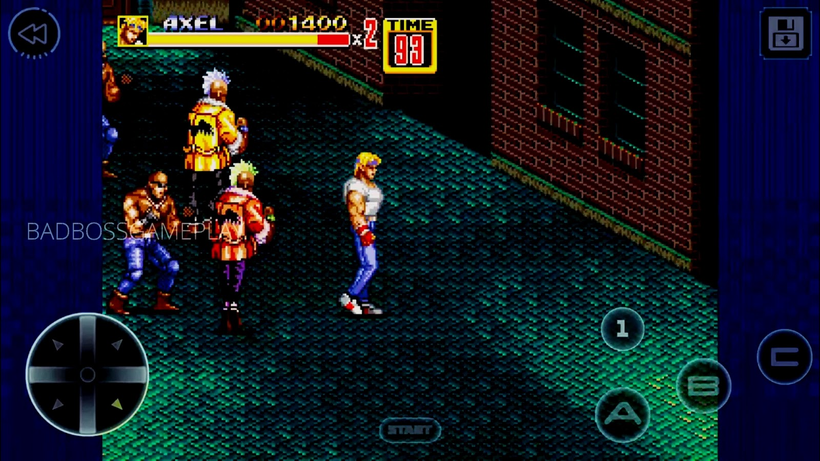 Street Of Rage 2 Classic Android Free Download Badbossgameplay