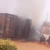 BREAKING: INEC Officials Flee As Fire Guts Card Readers In Anambra
