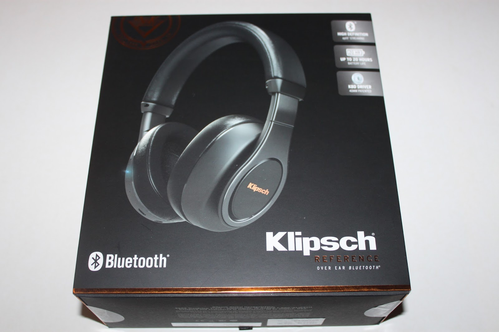 1a773fcab2e Stereowise Plus: Klipsch Reference Over Ear Bluetooth Headphones Review