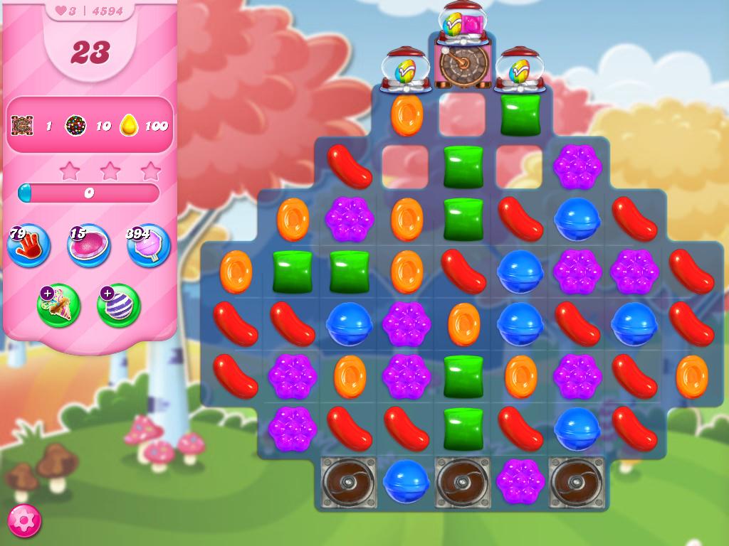 Candy Crush Saga level 4594