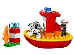 Lego Duplo Bateau Pompier