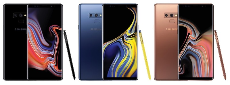 Samsung Galaxy Note9 Renders Leaked
