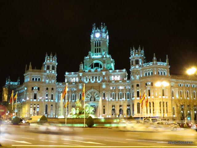 Palacio de Telecomunicaciones y Correos. Ahora Ayuntamiento de Madrid
