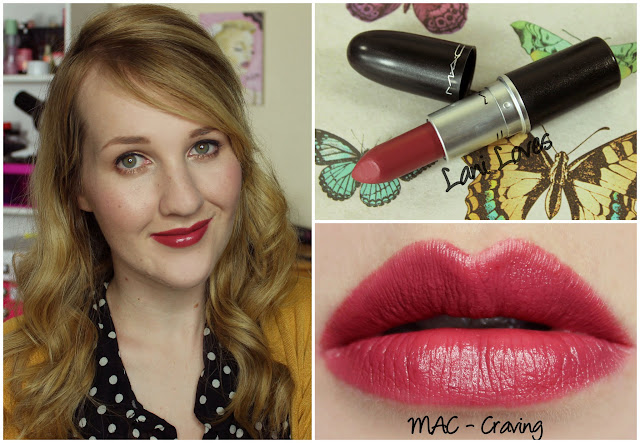 MAC Craving lipstick swatch