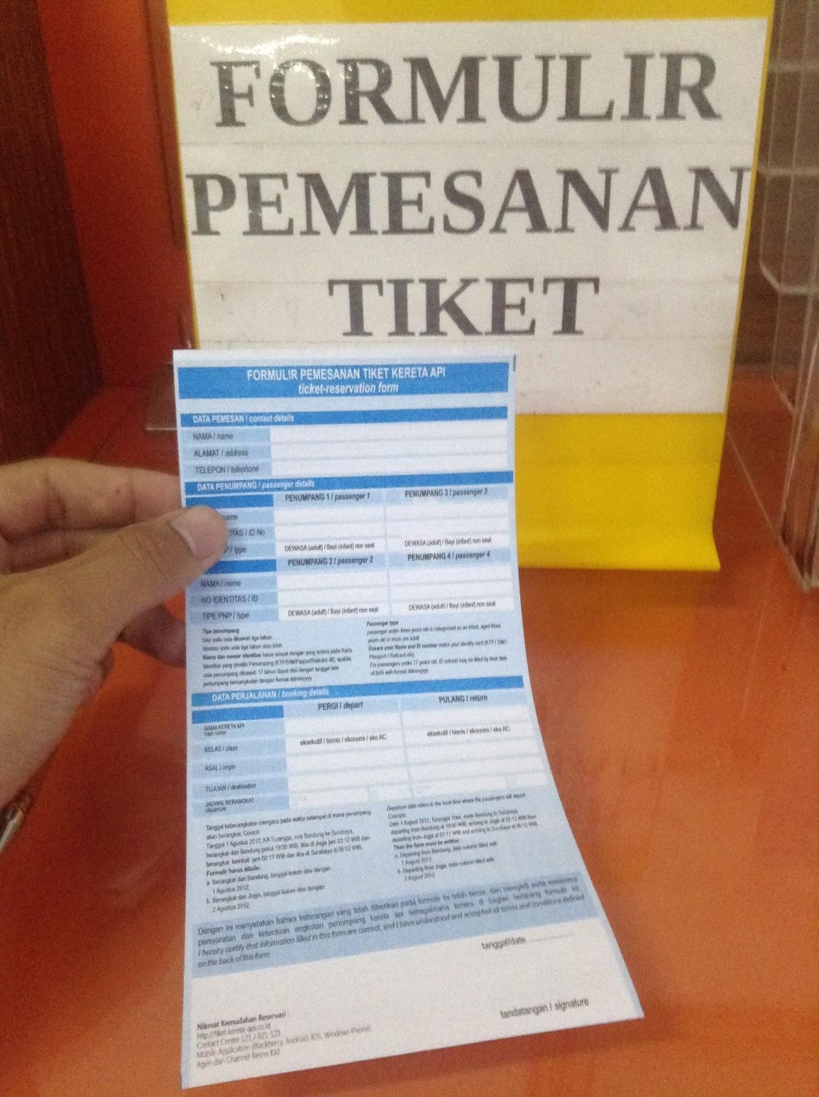 Cara Pemesanan Tiket Kereta Api Di Loket Stasiun Share Panduan