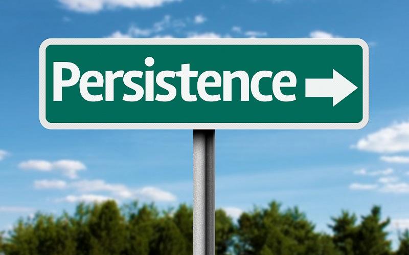 Persistência É A Chave Para o Êxito