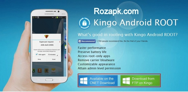 KINGO ROOT Apk v2.5 Latest Version For Android
