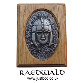 Anglo Saxon Sutton Hoo Helmet wall plaque