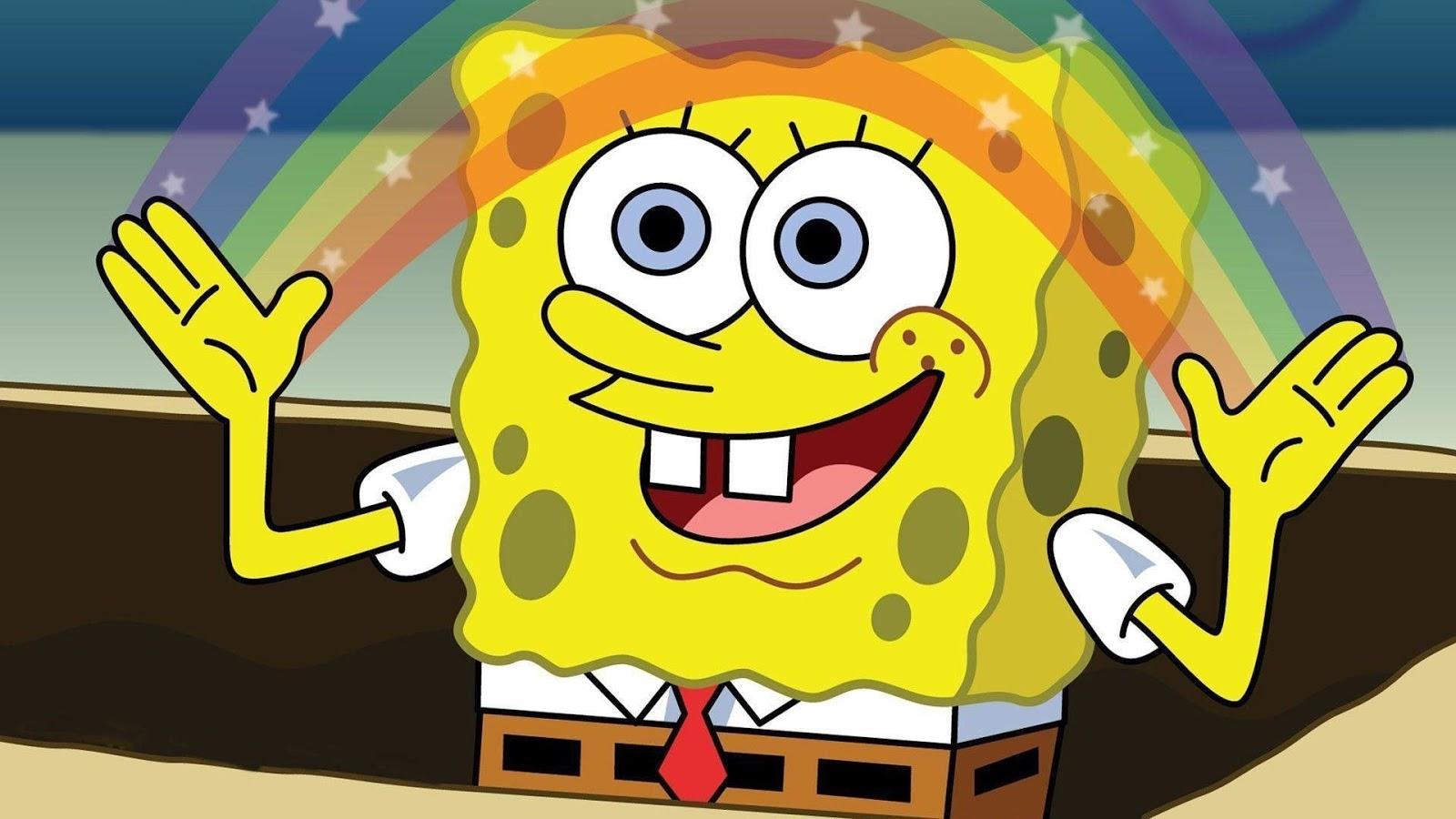 Raw Meme SpongeBob: Imagination