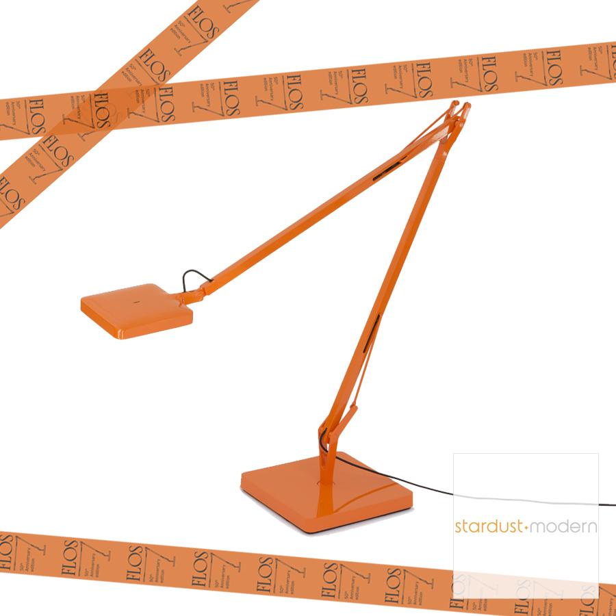 Desk Lamps Flos Kelvin Led Orange Limited Edition Orange