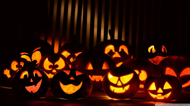 {31 October} Happy Halloween (Pumpkin Day) Images Greetings SMS Poems Cards W...